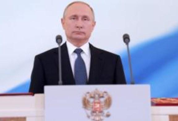 Взял пиджак и пошел на четвертый срок. Инаугурация Путина в картинках