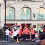 Открытое горение в универмаге «Пассаж» в Петербурге ликвидировано