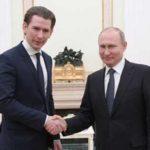Канцлер Австрии не приедет на инаугурацию Путина
