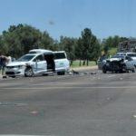 В США еще один беспилотник попал в аварию (видео)