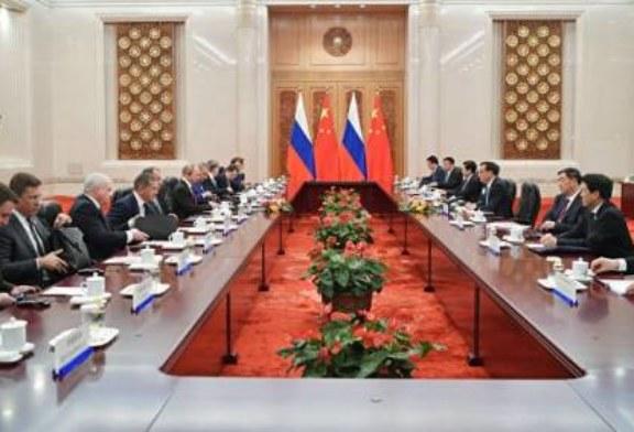 Путин назвал уровень сотрудничества с Китаем беспрецедентным