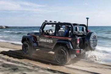 Итальянским карабинерам подарили пляжный Jeep Wrangler