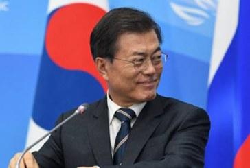 Президент Южной Кореи начинает визит в Россию
