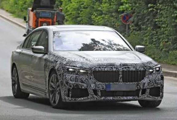 Обновленный седан BMW 7-Series вывели на тесты