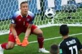 «Россия меня приятно удивила»: вратарь Исландии о кино и пенальти Месси