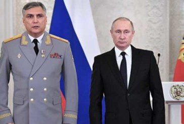 Путин назначил Матовникова полпредом в Северо-Кавказском федеральном округе