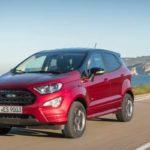 Обновленный Ford EcoSport c фарами в стиле Mustang: уже у российских дилеров