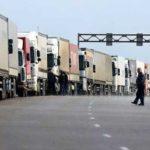 Огромная очередь из машин образовалась на границе Белоруссии и России