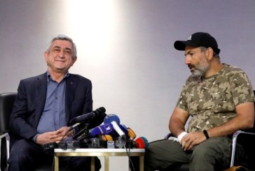 Серж Саргсян предал «республиканцев» и сдал власть Пашиняну, чтобы предать Арцах