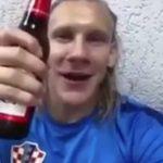 Хорватский защитник Вида: «Слава Украине! Белград, гори!»