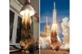 Кот или ракета: поражающую воображение картинку обсуждают в интернете