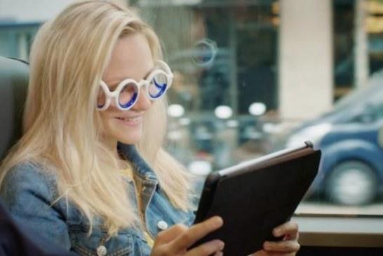В Citroen выпустили очки от укачивания