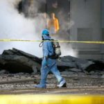 Взрыв паропровода произошел в центре Нью-Йорка