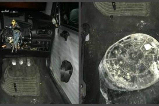 Британская полиция поймала самый бюджетный авто с ведром вместо сиденья
