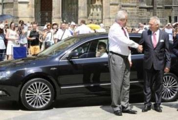 Чешский президент не оплатил парковку и попал в скандал
