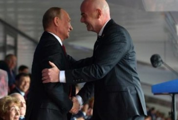 «Спасибо Путину»: президент ФИФА Инфантино назвал ЧМ-2018 лучшим в истории