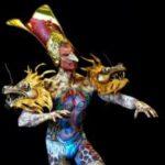 Всемирный фестиваль боди-арта выглядел в этот раз жутковато