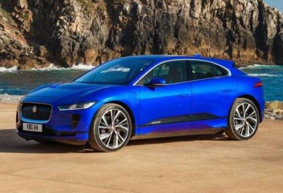 В Россию пришел электрический Jaguar I-Pace