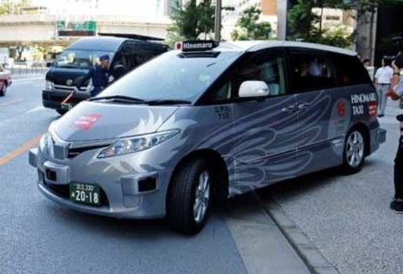 Первые беспилотные такси в Токио: неудобные и дорогие