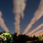 В небе над Англией протянулись «улицы из облаков». Фотографии