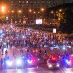 Ночной велопарад в Москве: что перекроют и как объехать