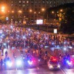Ночные велосипедики: что перекроют сегодня в Москве и как все это объехать