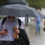 Дожди и грозы принесут в Москву похолодание