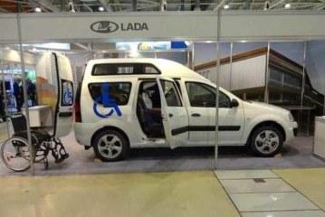 Lada Largus доработали для инвалидов