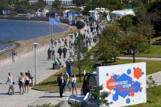 На острове Русский открылась выставка «Улица Дальнего Востока»