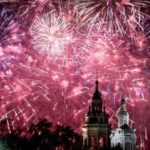 Салют на День города в Москве запустят с 30 площадок