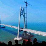 Мега-мост Китая: 420 тыс. тонн стали, подводный тоннель и 55км пути