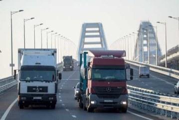 Сенатор прокомментировала запуск грузовиков по Крымскому мосту