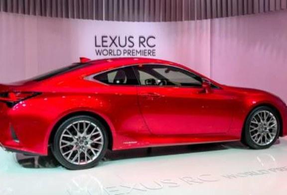 Lexus выкатил обновленное купе RC (много фото)