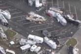 Стоп-кадр: американский ураган «Майкл» раскидал машины и самолеты, уничтожив авиабазу
