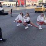 Жена депутата перекрыла МКАД и устроила развратные танцы в трусах