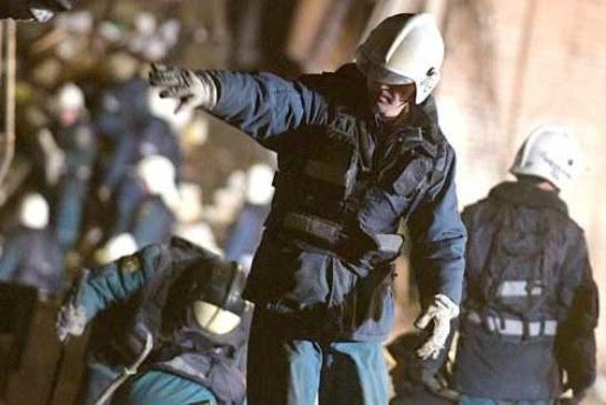 Спасатели завершили поисковую операцию на заводе в Гатчине
