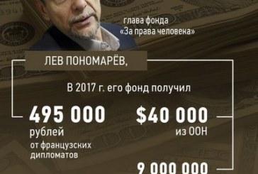 Кого финансируют иностранные государства?