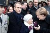 Меркель перепутали с супругой Макрона