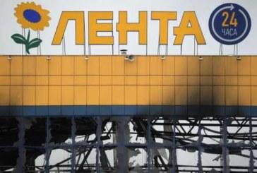 Пожар в петербургском гипермаркете полностью потушен