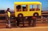 Четыре жителя Владивостока устроили дерзкое шоу на закрытом для пешеходов мосту