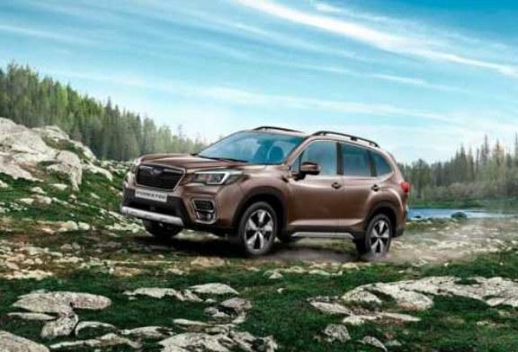 Встречаем новый Subaru Forester в России