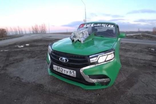 Как превратить ВАЗ-2105 в Lada Vesta, потратив на тюнинг 12 000 рублей?