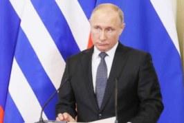 Путин назвал нонсенсом обвинения Греции в адрес российских дипломатов