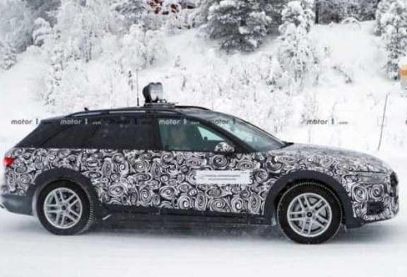 Шпионы сняли, как Audi A4 Allroad готовится к премьере