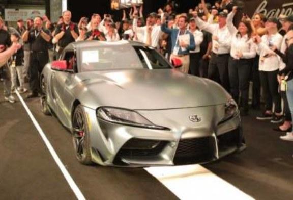 Первый покупатель возрожденной Toyota Supra заплатил 2,1 миллиона долларов