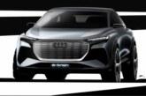 Audi опубликовала первые изображения своего нового электрокроссовера Q4 e-tron