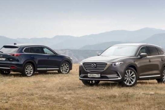 Обновленный кроссовер Mazda CX-9 стал дешевле