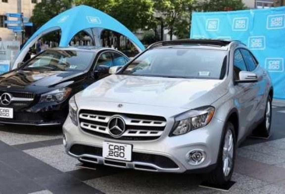 У сервиса каршеринга украли 100 автомобилей Mercedes