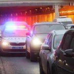 На МКАД столкнулись пять автомобилей