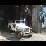 Житель Челябинска собрал автомобиль из стиральных машин (видео)